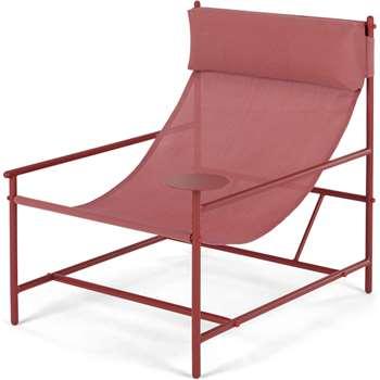 MADE Essentials Danta Garden Chair, Red (H81 x W69 x D84cm)