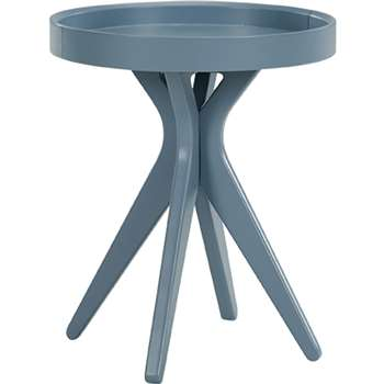 Made Essentials Pieta Bedside Table, Grey (45 x 41cm)