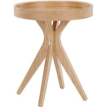 Made Essentials Pieta Bedside Table, Plywood (45 x 41cm)