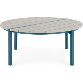 MADE Essentials Pino Coffee Table, Teal (H35 x W84cm)