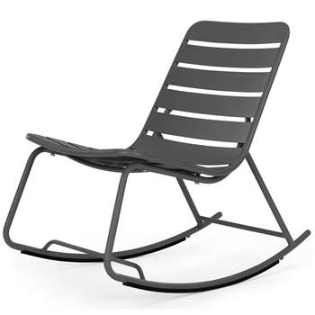 Made  Essentials Tice Rocker, Grey (57 x 53cm)