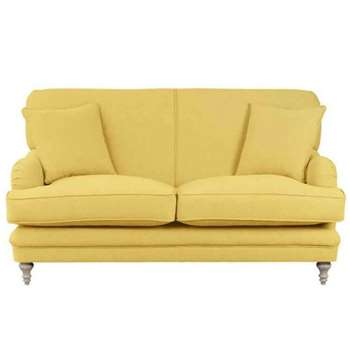 Madelein 2 Seat Sofa Malaga Mustard (87 x 167cm)