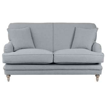 Madelein  2 seat sofa Malaga Steel (87 x 167cm)