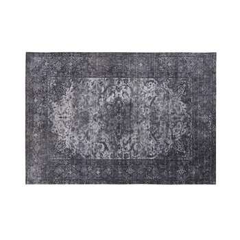 MADELINE Blue and Grey Printed Rug (H160 x W230cm)