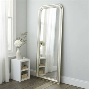 Madison Full Length Mirror, Champagne Silver (188 x 73cm)