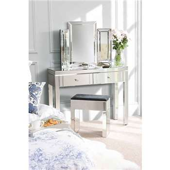 MADISON Mirrored Dressing Table with 4 legs (80 x 102cm)