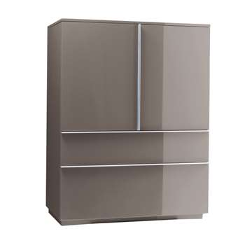 Madison storage cupboard stone (130 x 100cm)