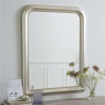Madison Wall Mirror, Champagne Silver (112 x 86.5cm)