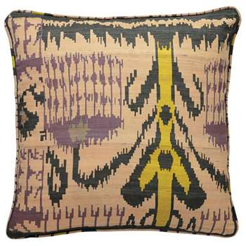 Madura Silk Cushion Cover, Large - Lime (51 x 51cm)