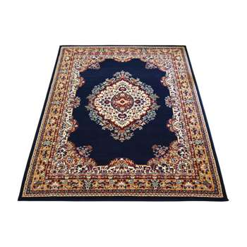 Maestro Traditional Runner - 67 x 200cm - Navy