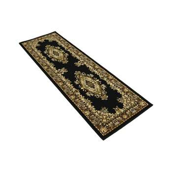 Maestro Traditional Runner 67 x 300cm - Black