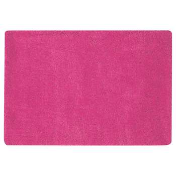 MAGIC long pile rug in fuchsia pink (120 x 180cm)
