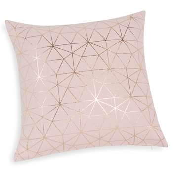 MAGIX pink cotton cushion cover (40 x 40cm)