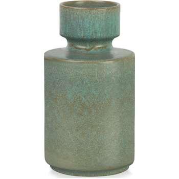 Magni Medium Vase, Green (H25 x W14 x D14cm)