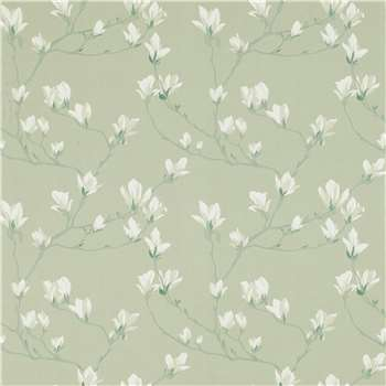 Magnolia Grove Hedgerow Wallpaper