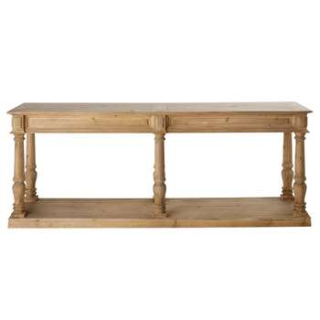MAHAULT - Recycled Pine Console Table (H76 x W200 x D50cm)
