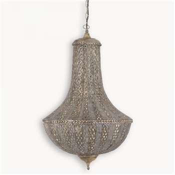 Maitland Hanging Moroccan Lantern (175 x 65cm)