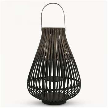 Maitland Wicker Lantern (31 x 31cm)