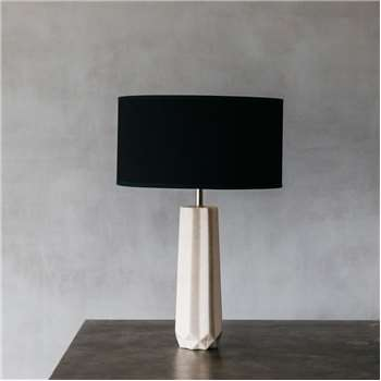 Makai Marble Table Lamp (H40 x W11 x D11cm)