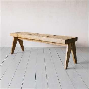 Malay Teak Bench (H41 x W137 x D56cm)
