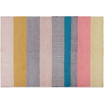 Malay Wool Stripe Rug, Large, Multi (H160 x W230 x D2cm)