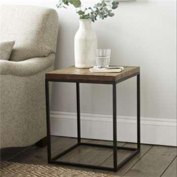 Malham Side Table - Smoke (50 x 40)
