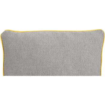 Malone 100% Cotton Cushion, Grey (35 x 50cm)