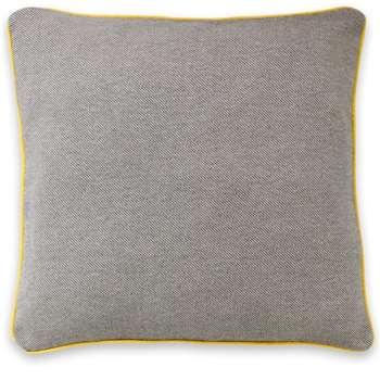 Malone 100% Cotton Cushion, Grey (H50 x W50cm)