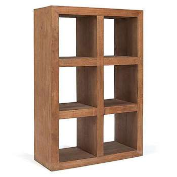 Manado Bookcase Medium (120 x 82cm)