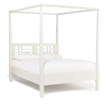 Mandara Four Poster Bed Without Footboard, Super King (202 x 193cm)