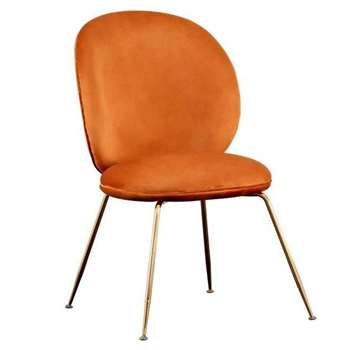 Mantis Dining Chair - Pumpkin (H89 x W53 x D46cm)