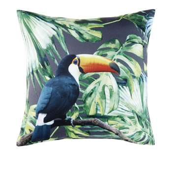 MANZANITO Outdoor Cushion with Plant Print (H45 x W45 x D10cm)