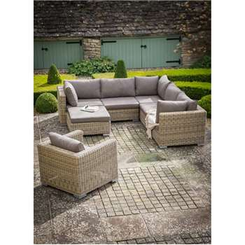 Marden Corner Sofa Set - All-weather Rattan