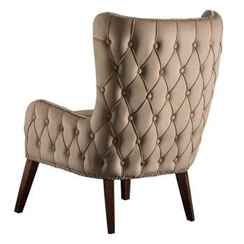 Margonia Armchair Taupe (H100 x W71 x D85cm)