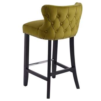 Margonia Barstool Olive (H94 x W48 x D50cm)