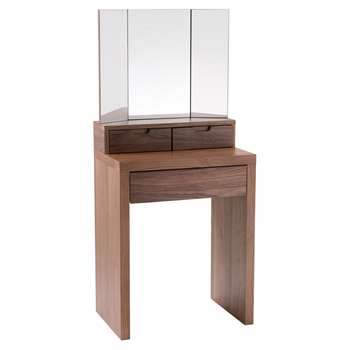 Marilyn dressing table walnut (138 x 60cm)