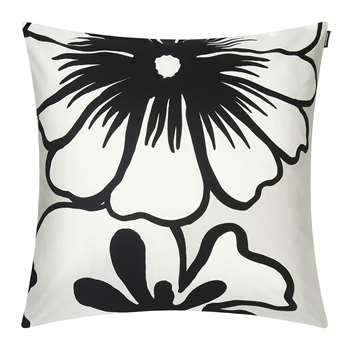 Marimekko - Elakoon Elama Cushion Cover - Light Grey/White (H50 x W50cm)