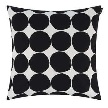 Marimekko - Pienet Kivet Cushion Cover - White/Black (H50 x W50cm)
