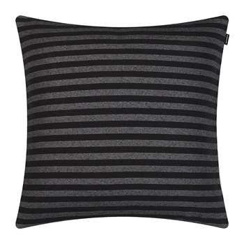 Marimekko - Tasaraita Cushion Cover - Black/Grey (50 x 50cm)