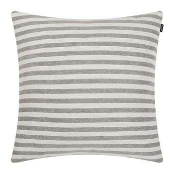 Marimekko - Tasaraita Cushion Cover - Ecru/Black (50 x 50cm)