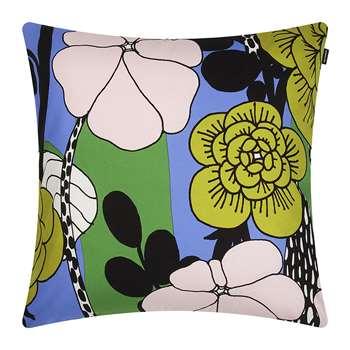 Marimekko - Unelma Cushion Cover - Blue/Pink/Green (50 x 50cm)