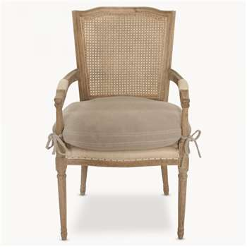 Marlborough Rock Grey Chair with Arms (97 x 57cm)
