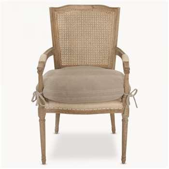 Marlborough Rock Grey Chair with Arms (97 x 57cm)
