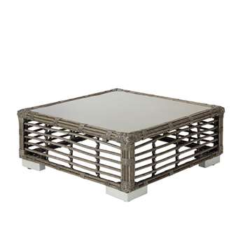 Marquesas Coffee Table - Dark Grey (31 x 75cm)