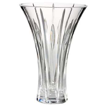 Marquis by Waterford Crystal Sheridan Flared Vase (Height 23cm)