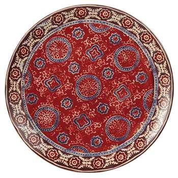Marrakech Decorative Plate - Multi (3 x 29cm)