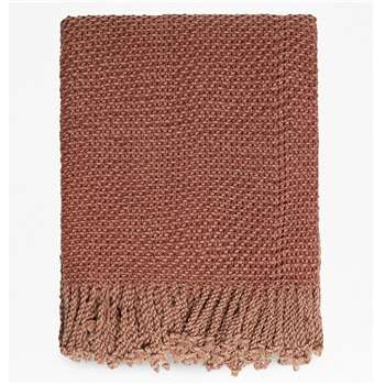 Mateo Throw - Terracotta (H130 x W170cm)