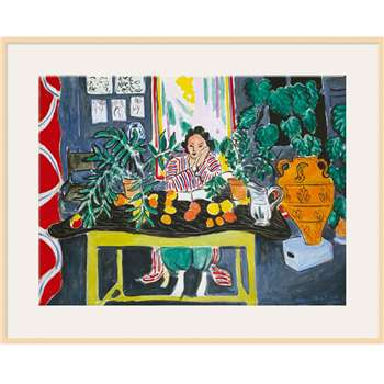 Matisse - Interior with Etruscan Vase - Light Frame 60 x 80cm