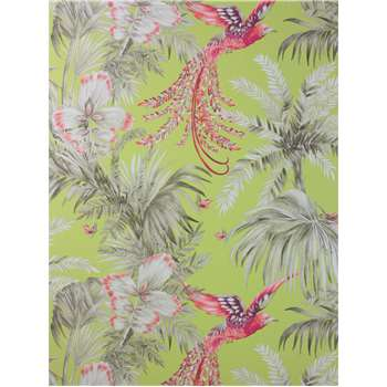 Matthew Williamson Bird of Paradise Wallpaper, Lemon, W6655-01 (H1000 x W52cm)