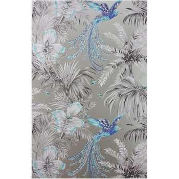 Matthew Williamson Bird of Paradise Wallpaper, Turquoise, W6655-06 (H1000 x W52cm)